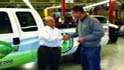 Competitive Lawn Service Takes Keys to First ROUSH Under-Bed Propane F-350