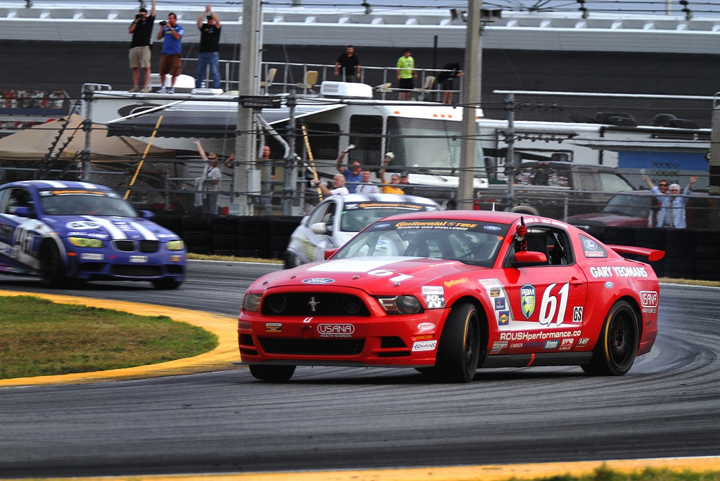 The ROUSH Performance Road Racing Team Heads To Indy