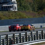 No. 61 Mustang Attempting Pass For The Win - Lime Rock 2013