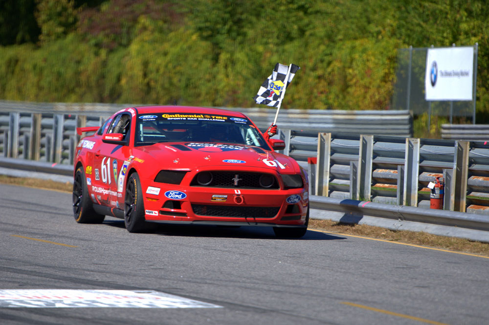 The ROUSH Road Racing Team Wins At Lime Rock