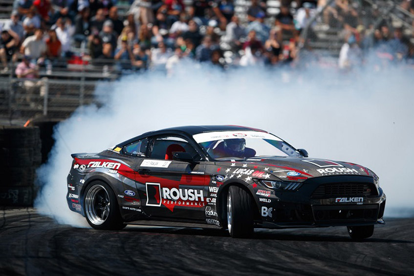 ROUSH Performance and Formula Drifter Justin Pawlak Continue the Partnership in 2017